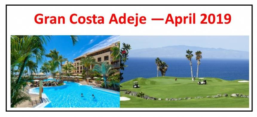 Gran Costa Adeje - April 2019