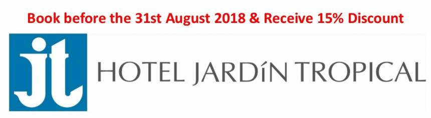 Early Booking Discount - Hotel Jardin Tropical