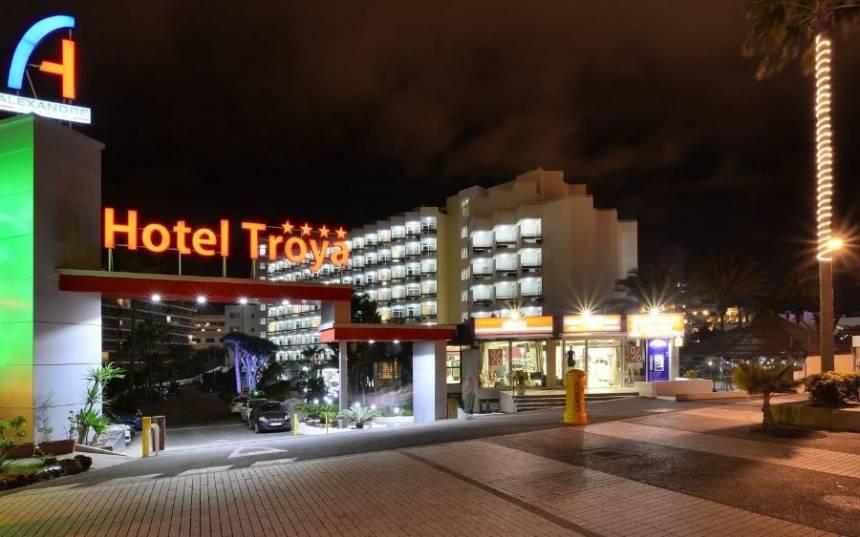 Going Golfing Hotel Troya 4 Start Las Americas Tenerife